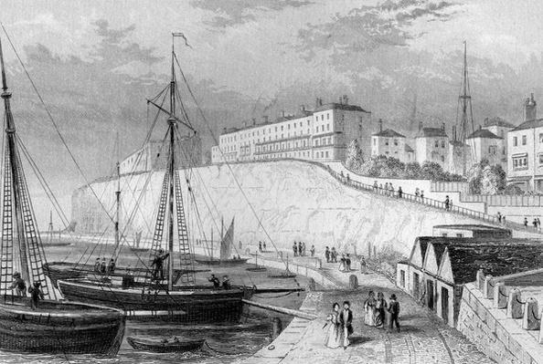 West cliff, Ramsgate, c.1830