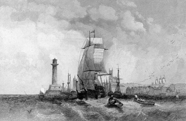 Margate, Kent, engraved by Henry Wallis, c.1830