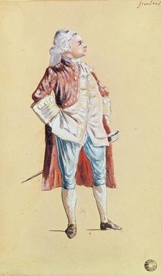 The Actor Grandval