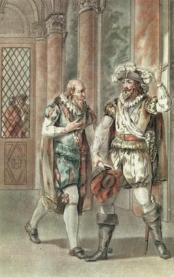 Henry IV conversing with Sully