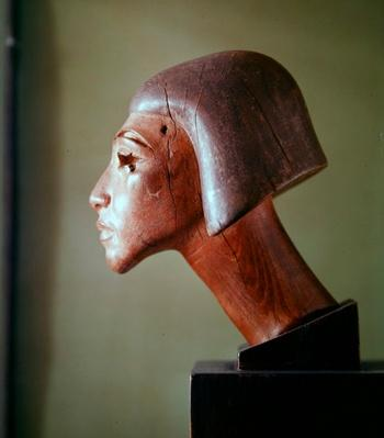 El-Amarna style head