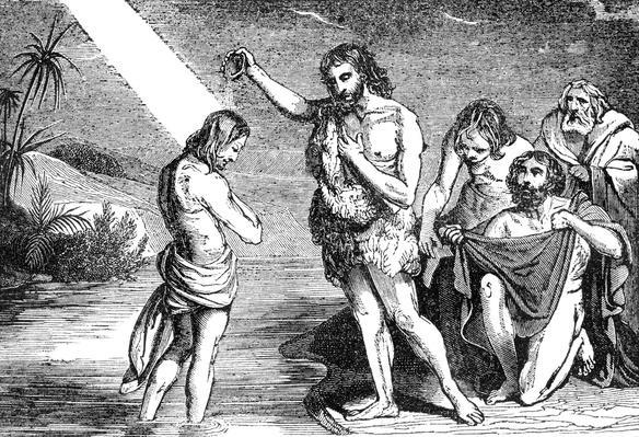 Baptism of Jesus by St. John | World Religions: Christianity