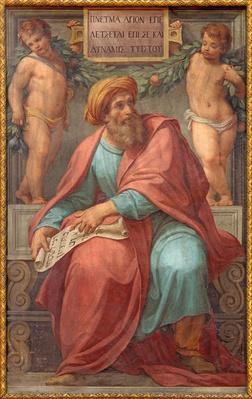 Rome - The prophet Ezekiel fresco | World Religions: Christianity
