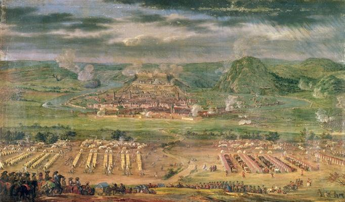 The Siege of Besan�on in May 1674
