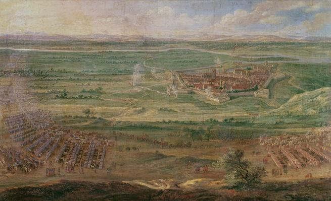 The Siege of Dole in June 1674