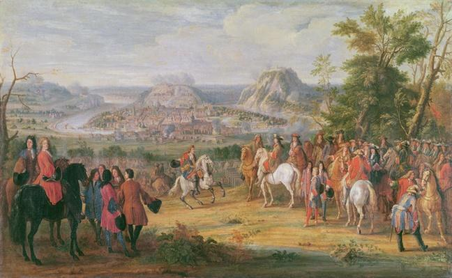 Louis XIV at the Siege of Besan�on in May 1674