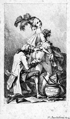 Colla di Parma, print made by Francesco Bartolozzi, c.1775