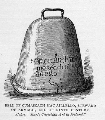 Bell of Cumascach Mac Aillelo
