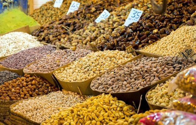 Assortment of Nuts in Morocco | Earth's Resources