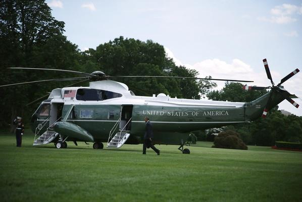 President Obama Departs White House For Florida | The Evolution of Military Aviation