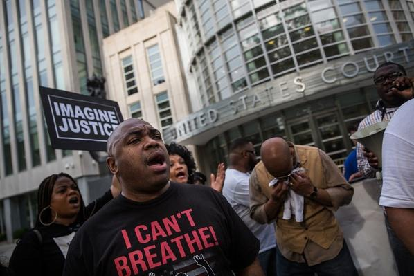 Activists Call For Prosecution Of Cop Implicated In Death Of Eric Garner | The 20th Century Since 1945: Civil Rights & the New Millennium