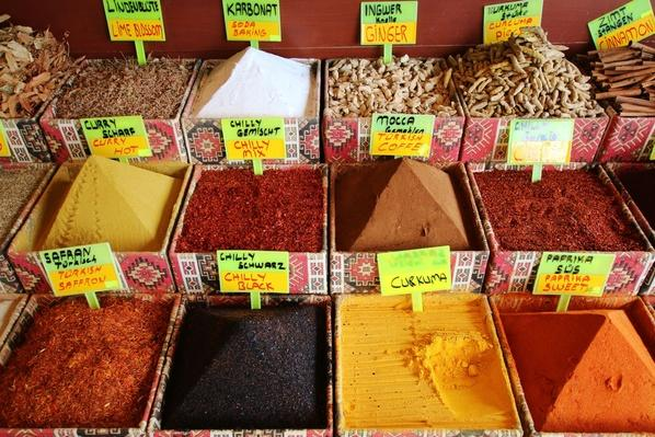 Turkish Spice Bazar | Earth's Resources
