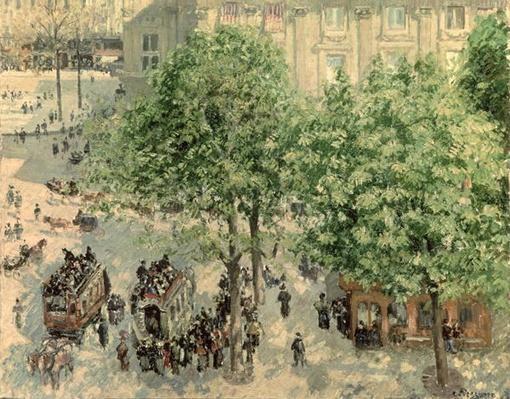 Place du Theatre-Francais, Spring, 1898