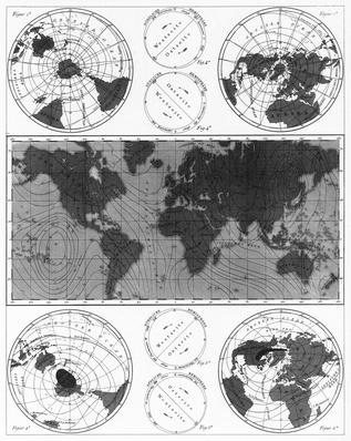 Climate and Weather Charts Engraving | Weather