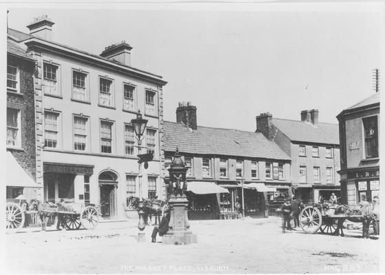 The Market Place, Lisburn