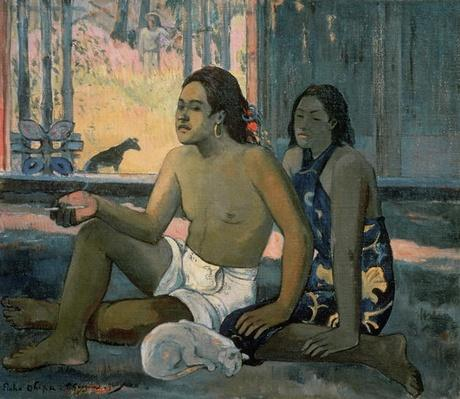 Eiaha Ohipa or Tahitians in a Room, 1896