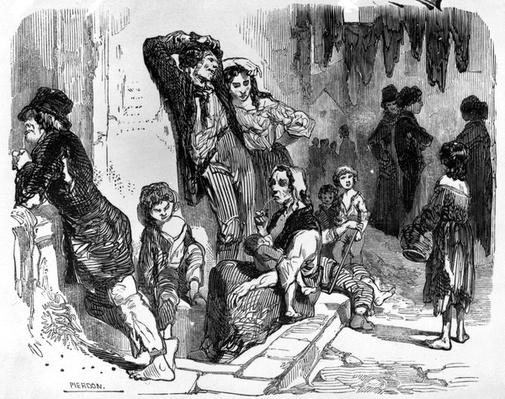 A Scene in St. Giles's