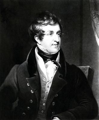 John Cam Hobhouse, print made by Charles Turner, 1834