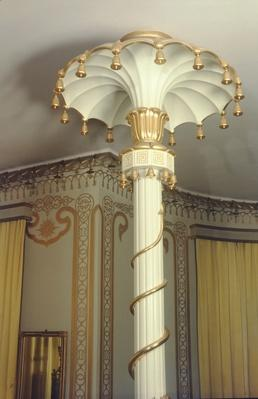 Detail of a column in the North Drawing Room, 1815-23
