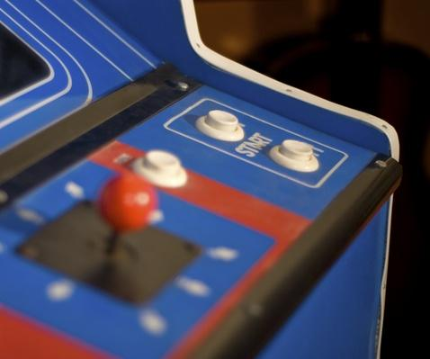 Arcade Machine start button | Social Gaming: From Arcades to Online