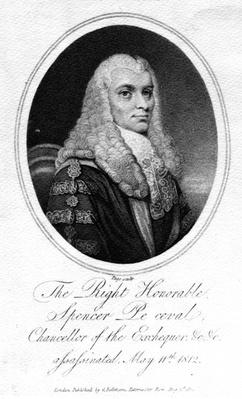 The Right Honorable Spencer Perceval, 1812
