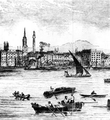 Wharfs on the River Thames, St. Benet's to Nicholson's Wharf