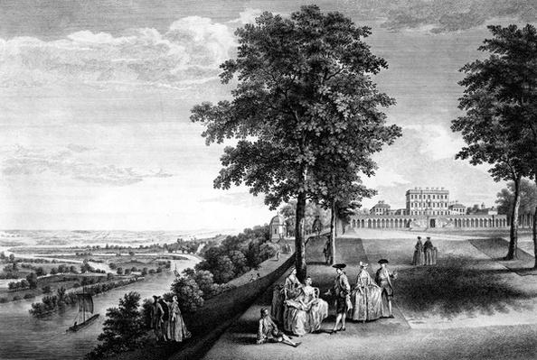 A View of Cliveden in Buckinghamshire, the seat of the Right Honourable the Earl of Inchiquin, 1759