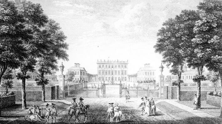 Cliveden House near Maidenhead Bridge in the County of Bucks, 1753