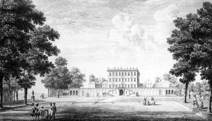 The Garden Front of Cliveden House in the county of Bucks, 1753