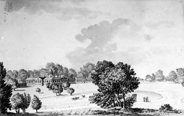 Bulstrode Park, Buckinghamshire, 1781