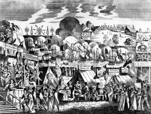 Jubilee Fair in Hyde Park, 1814