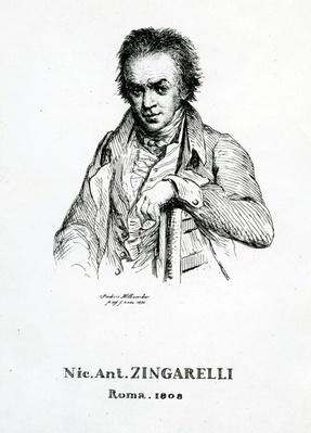 Niccolo Antonio Zingarelli, 1870