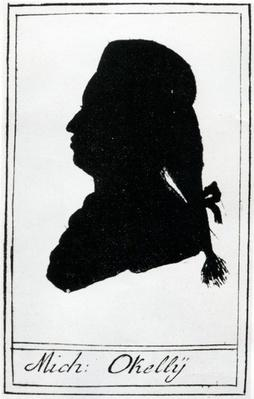 Silhouette of Michael O'Kelly, 1786