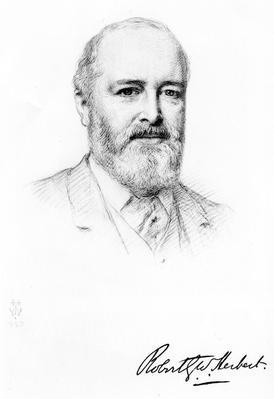Sir Robert Herbert, 1897