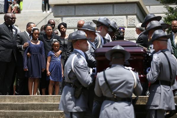 Charleston Church Shooting Victim Sen. Pinckney Lies In Repose | The 20th Century Since 1945: Civil Rights & the New Millennium