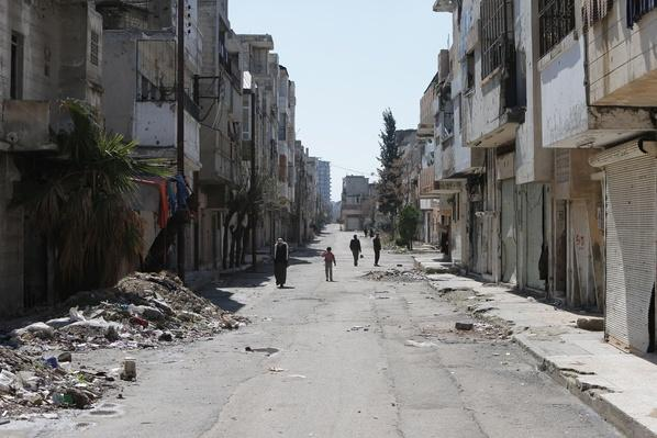 A Look Inside the City of Homs