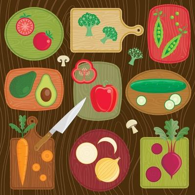 Cutting Board Vegetables   Health and Nutrition