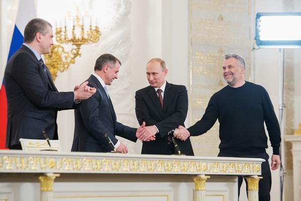 Defiant Putin Declares Crimea Has Always Been Part of Russia
