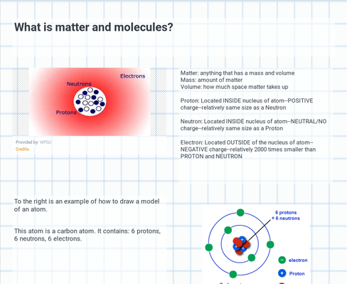 What is matter and molecules?
