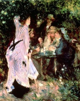 In the Garden, or Under the Trees of the Moulin de la Galette, 1875