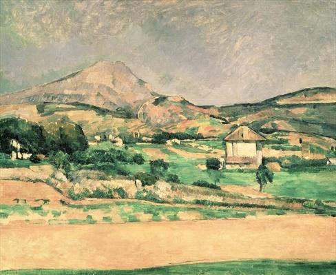 Montagne Sainte-Victoire, c.1882-85