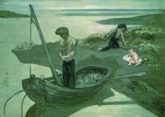 Sketch for the Poor Fisherman, 1879