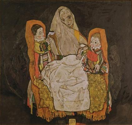 Mother with Two Children, 1915-17