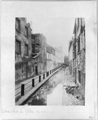 The Bievre, Ruelle des Gobelins, Paris, May 1900