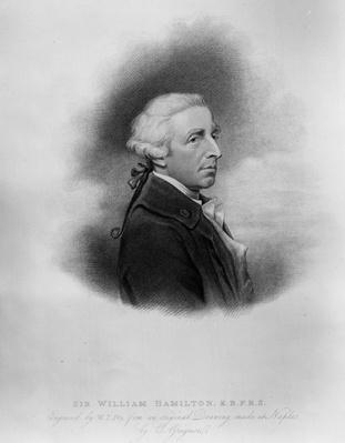 Sir William Hamilton, engraved by William Thomas Fry, 1817
