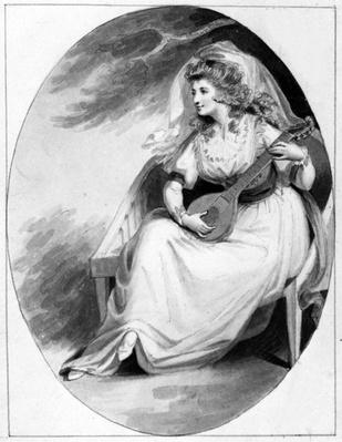 Elizabeth Farren in the role of Olivia, c.1785