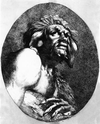 Caliban, from The Tempest, 1776
