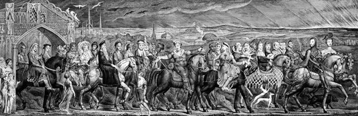 Chaucer's Canterbury Pilgrims, 1810
