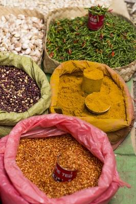 Colorful Food Merchandise on Market | Earth's Resources