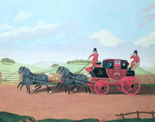 The Liverpool and London Royal Mail Coach, 1812